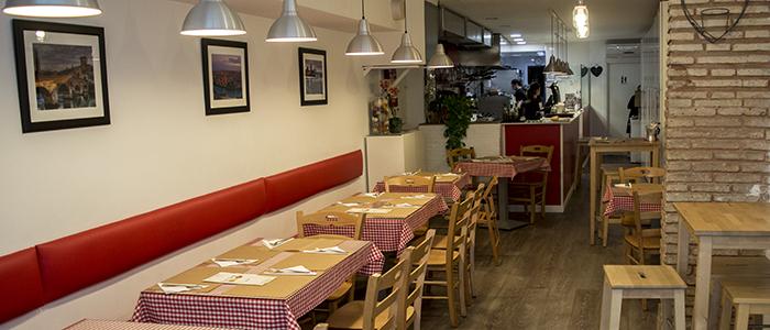 Restaurante italiano Osteria Romeo Giulietta