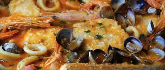 Tipico Suquet de peix